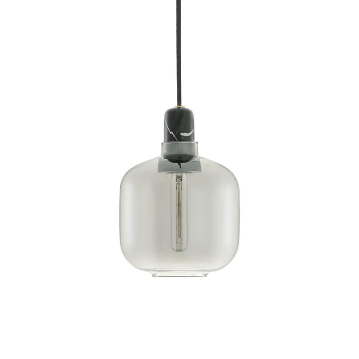 Amp Hanglamp klein van Normann Copenhagen in Rook / Zwart