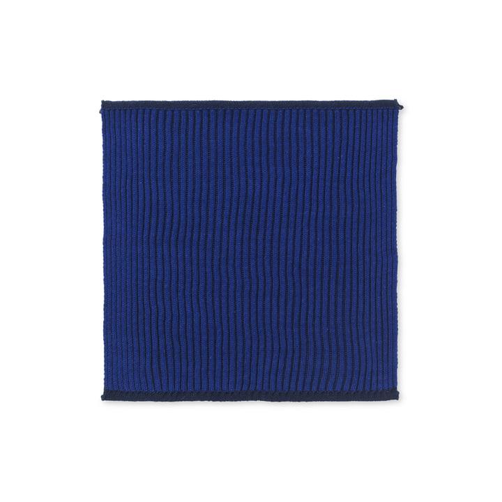 De Twofolg Organic Tea Towel door fermentatie van het Leven in donkerblauw