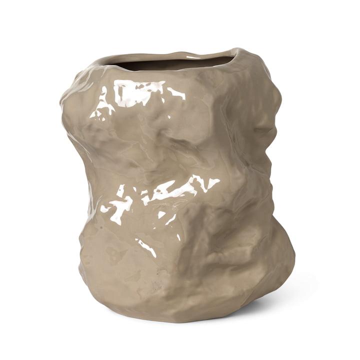 De Tuck vaas van Ferm Living in cashmere, 40 cm