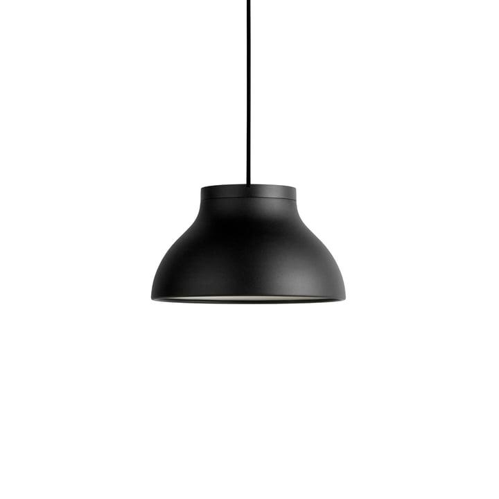 PC-hanglamp S, Ø 25 x H 1 4. 5 cm, zacht zwart van Hay.