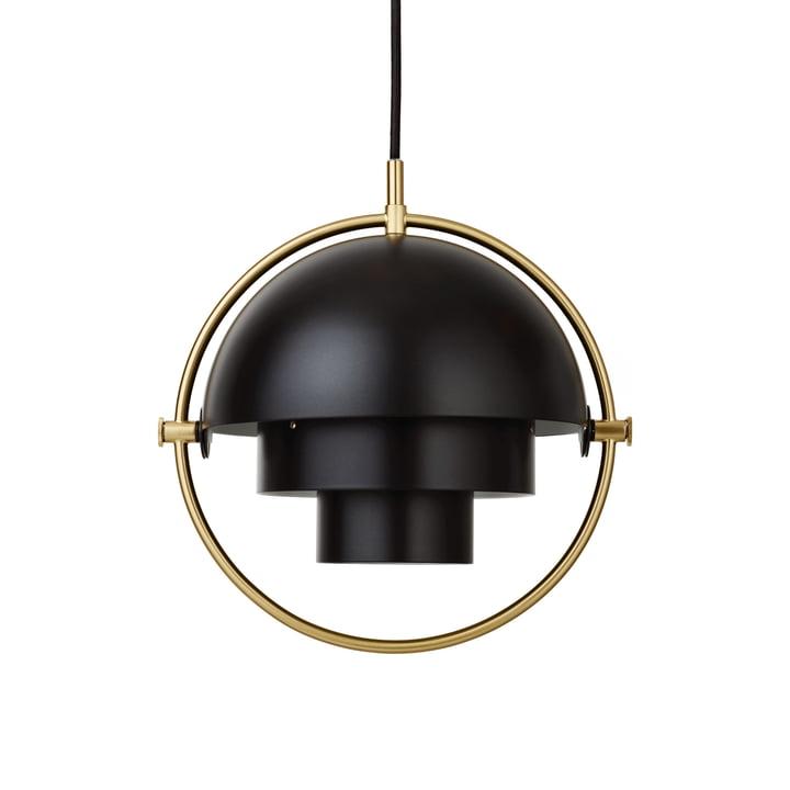 Multi-Lite Hanglamp S Ø 22,5 cm van Gubi in messing / zwart