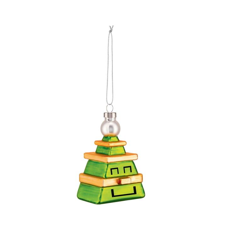 De Cubik Tree Kerstboomversieringen van Alessi