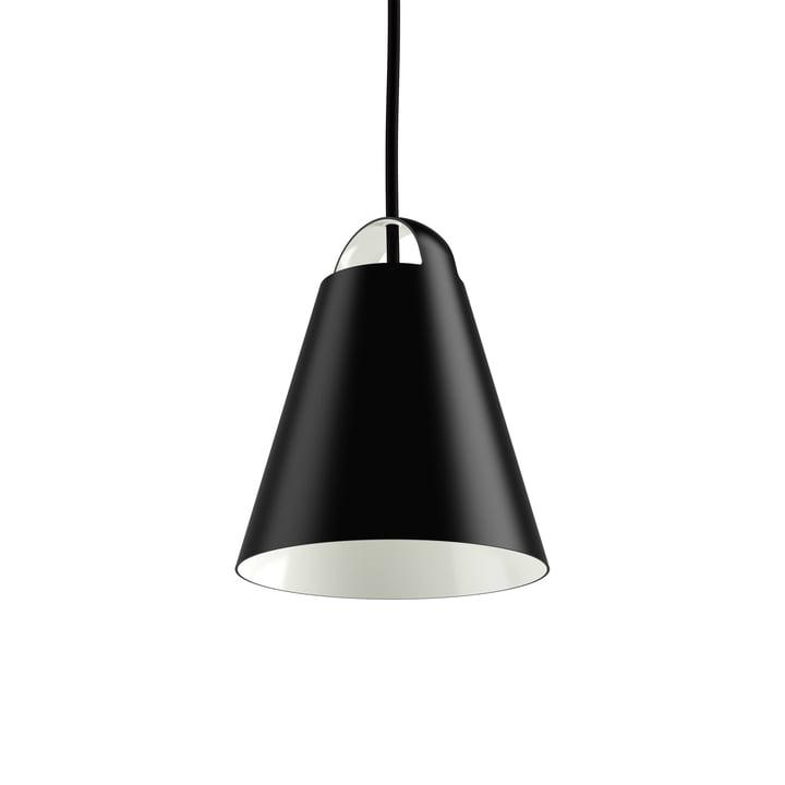 Bovenstaande hanglamp Ø 17.5 cm van Louis Poulsen in zwart