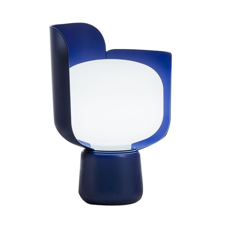 De Blom Tafellamp van FontanaArte in blauw