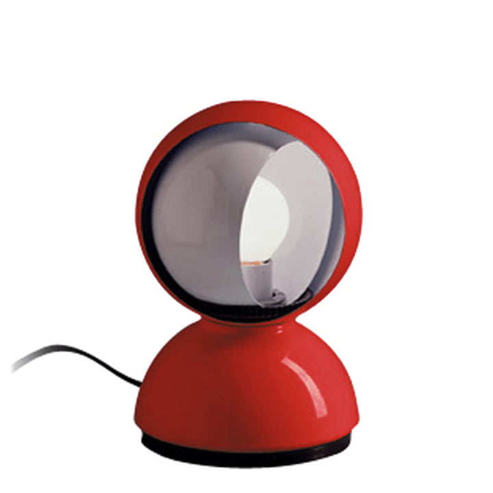 Artemide Eclisse tafellamp, rood