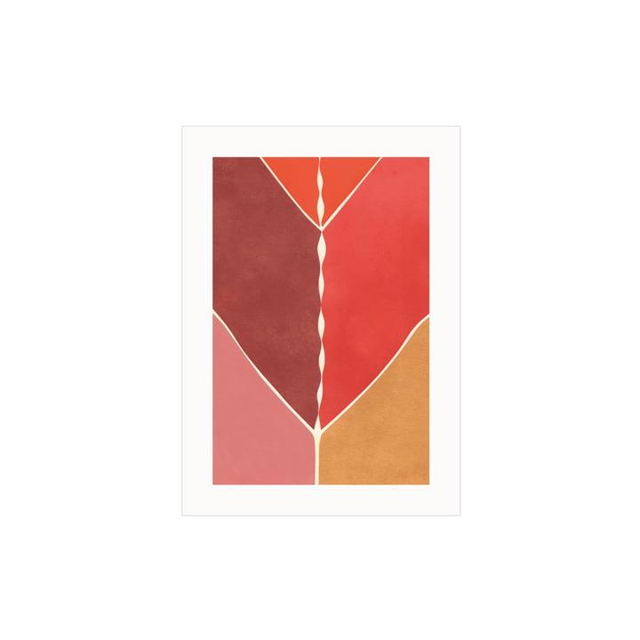 De Navigation poster van Paper Collective , 30 x 40 cm