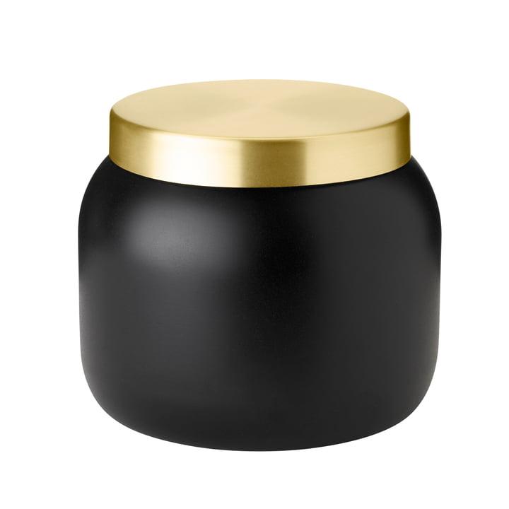 De Collar ijsemmer van Stelton , 1. 8 l, zwart / goud