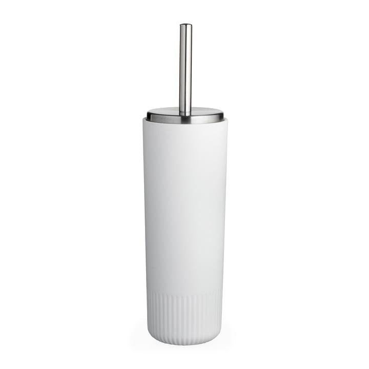De Plissé toiletborstel van Södahl , wit