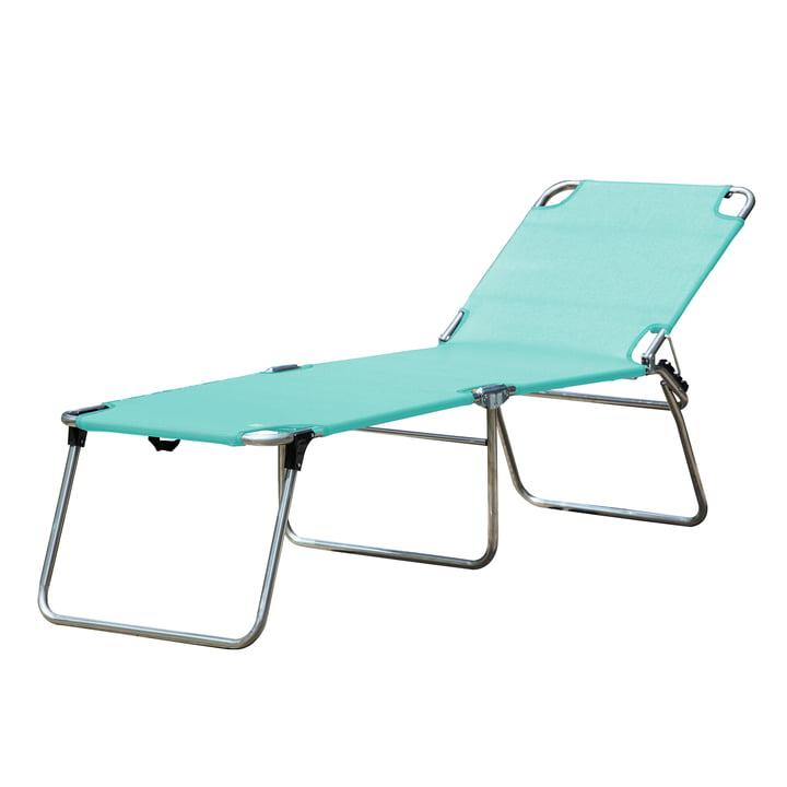 De Amigo 40 + driepoot-ligstoel van Fiam , aqua