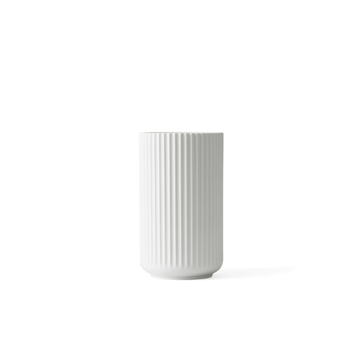 Lyngbyvase H 6 cm van Lyngby Porcelæn in wit