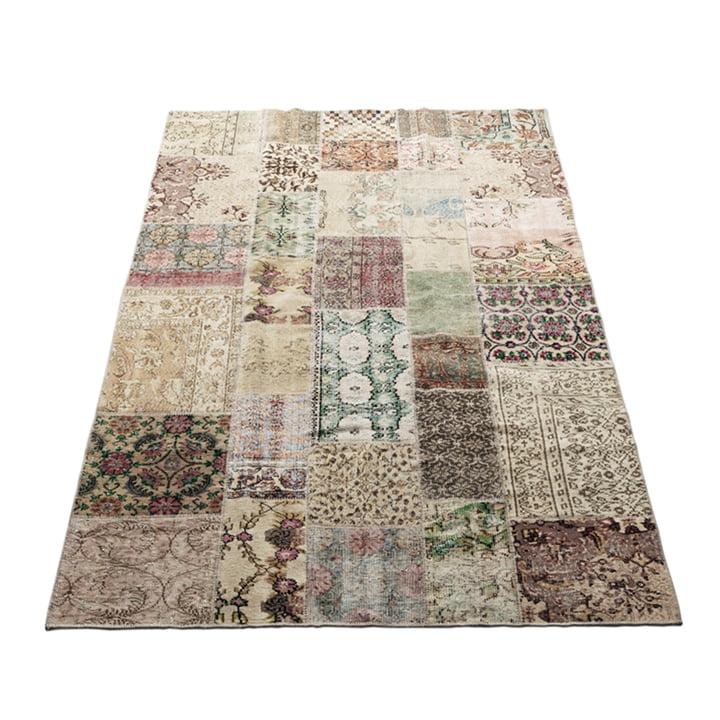 Het tapijt Vintage van Massimo , 170 x 240 cm, licht natuur