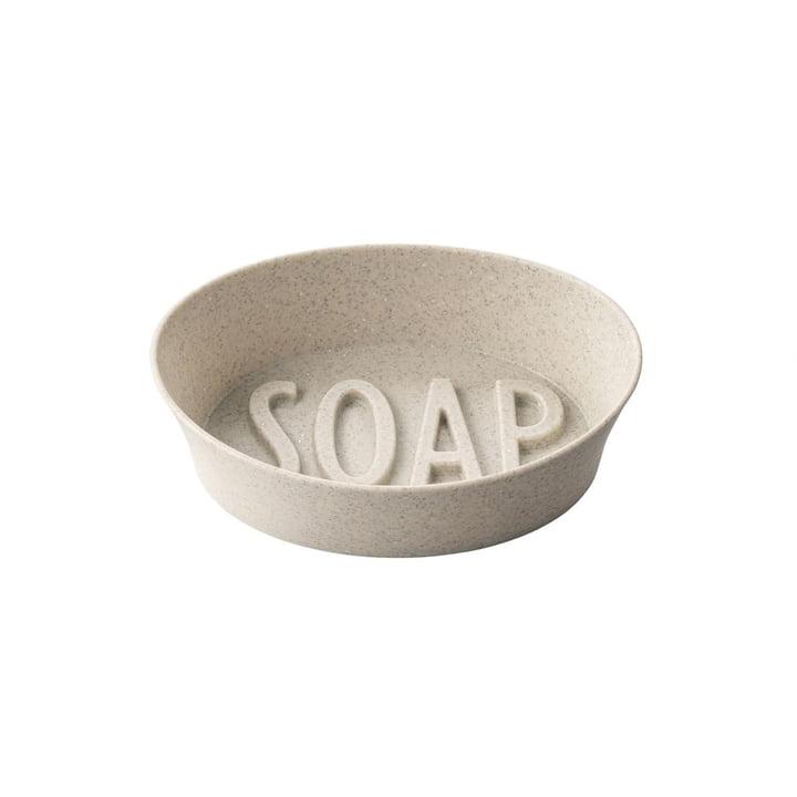 Soap Zeepbakje (gerecycled) van Koziol in de kleur desert sand