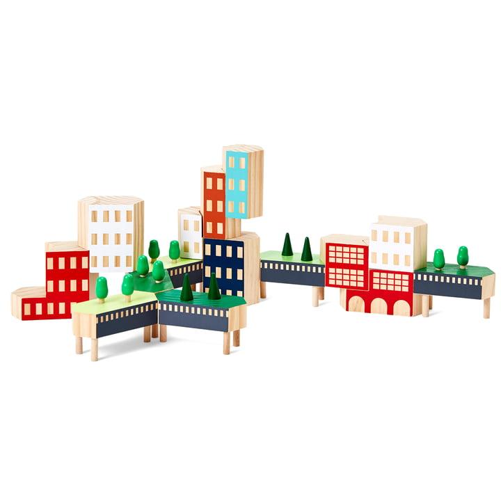 Blockitecture New York City Bouwstenen van Areaware in de Greenway-variant