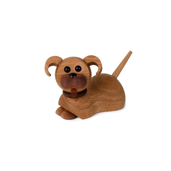 Hond puppy houten figuur Coco van Spring Copenhagen