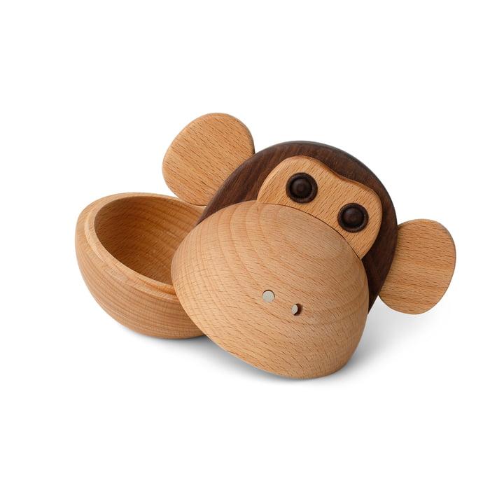 Monkey Bowl Houten kist van Spring Copenhagen