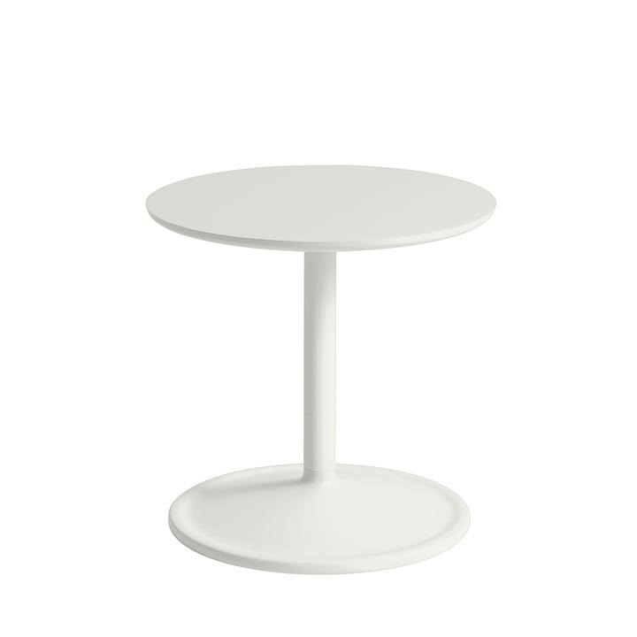 Soft Bijzettafel Ø 41 cm, H 40 cm van Muuto in off-white