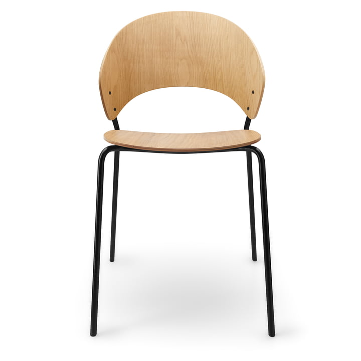 De Dosina stoel van Eva Solo , licht eiken / zwart