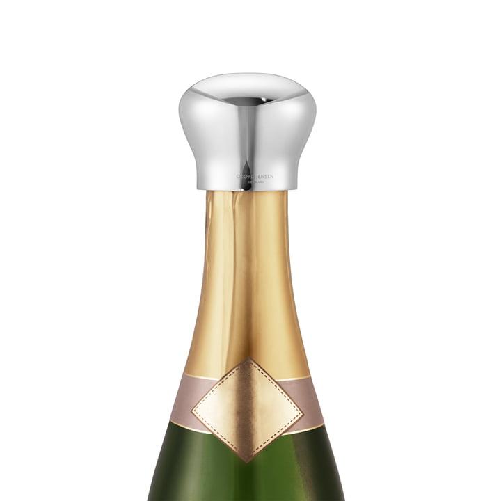 Sky Roestvrijstalen champagnestopper van Georg Jensen