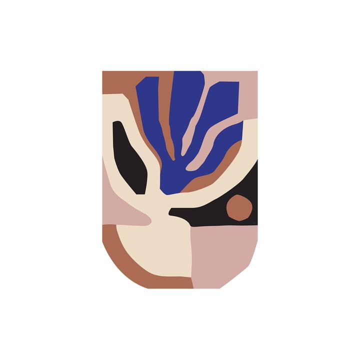 Monstera Poster van Paper Collective , 30 x 40 cm