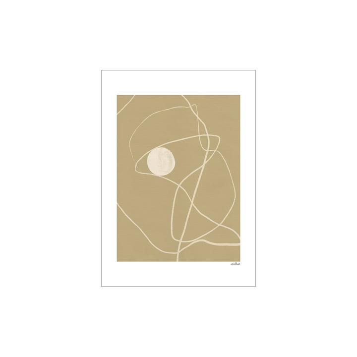 Little Pearl Poster van Paper Collective , 30 x 40 cm