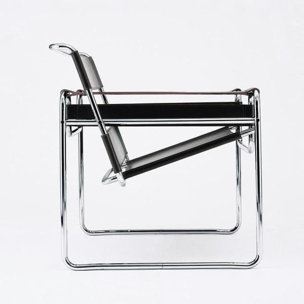 De B3 Wassily-stoel van Knoll