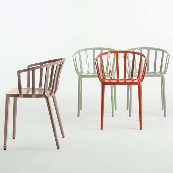 Der Kartell - Venetië stoel in verschillende kleuren