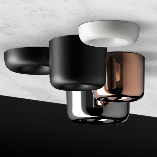 Spouw LED-plafondspot door serien.lighting